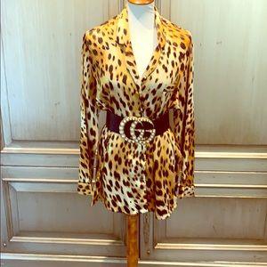 Pre owed large leopard pajama  Victoria  Secret.